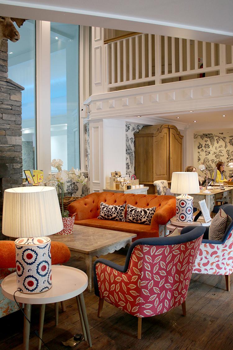 Swan Hotel Interior