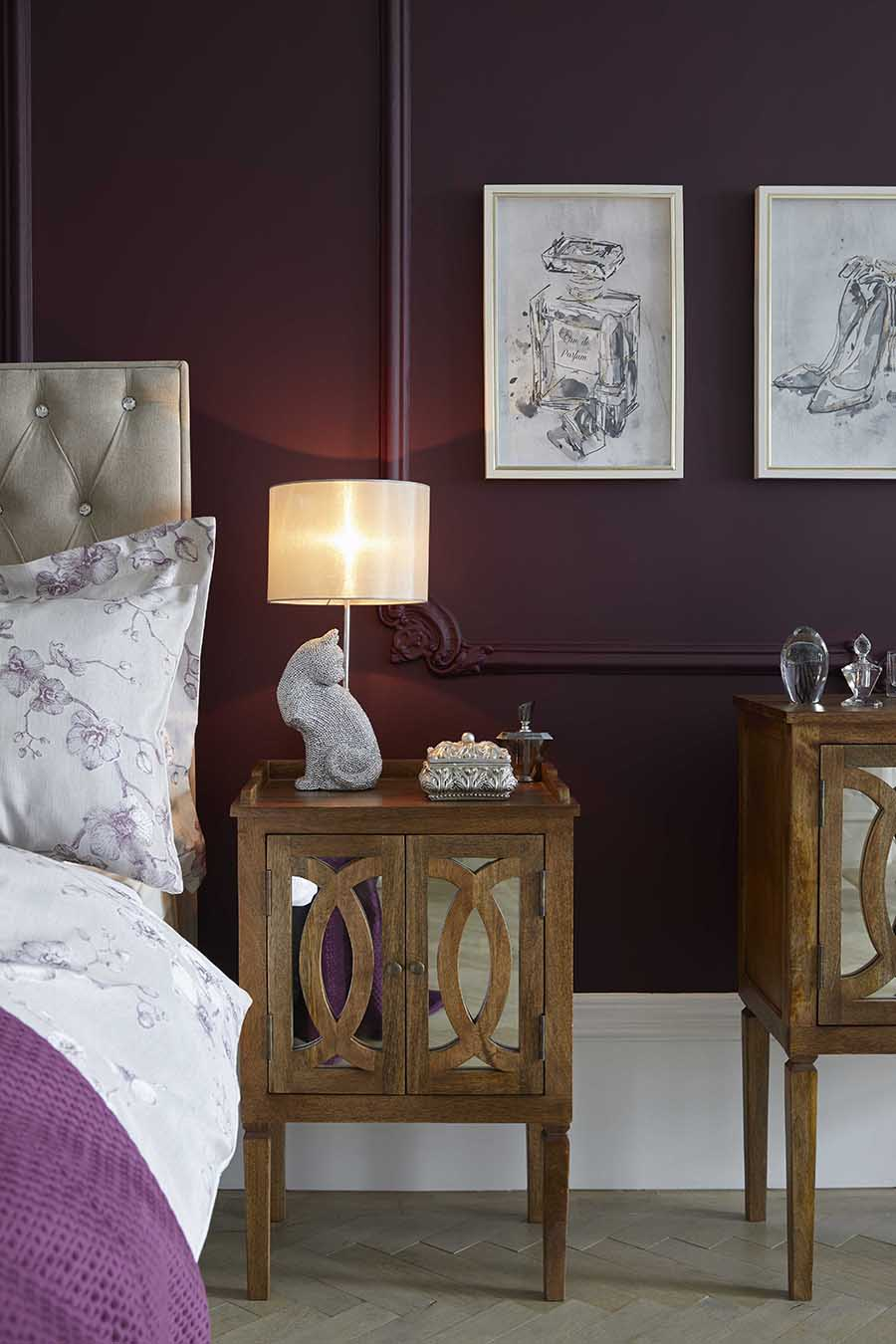 Taurus - Classic Deco Bedroom - How to decorate according to your star sign