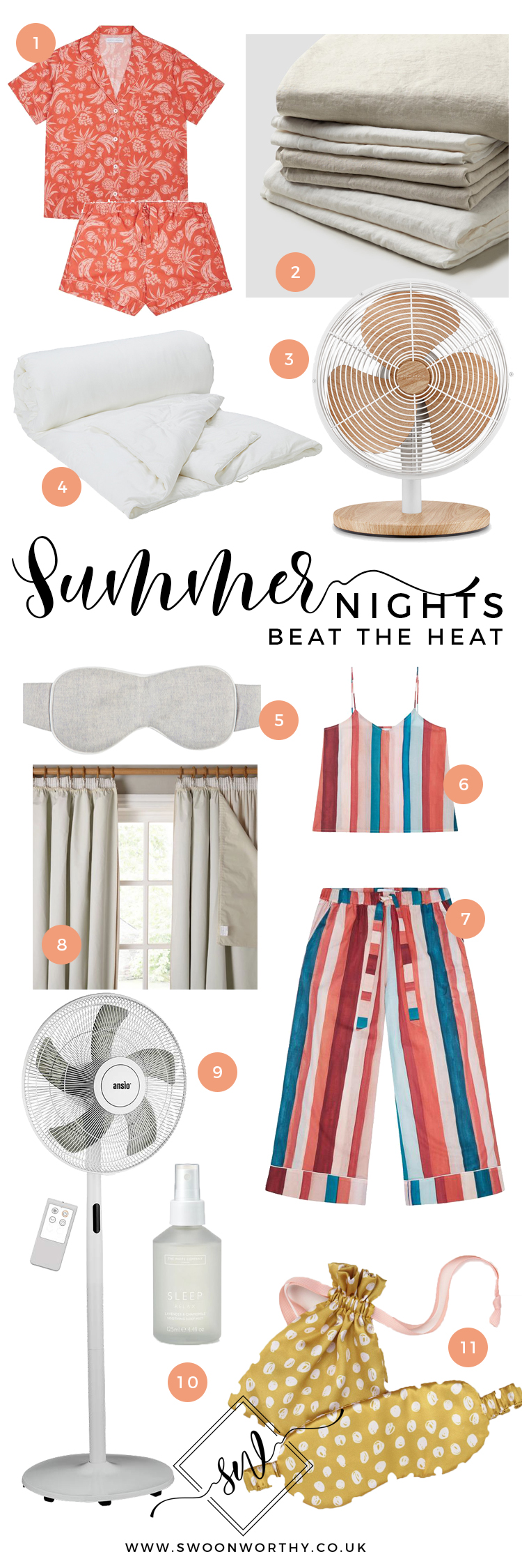 Balmy Summer Nights Buying Guide