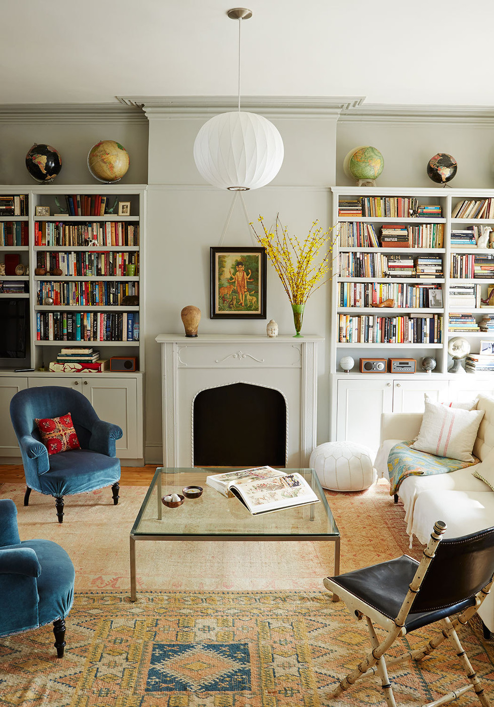 Library Symmetry - Libra - Decorating According to your Star Sign