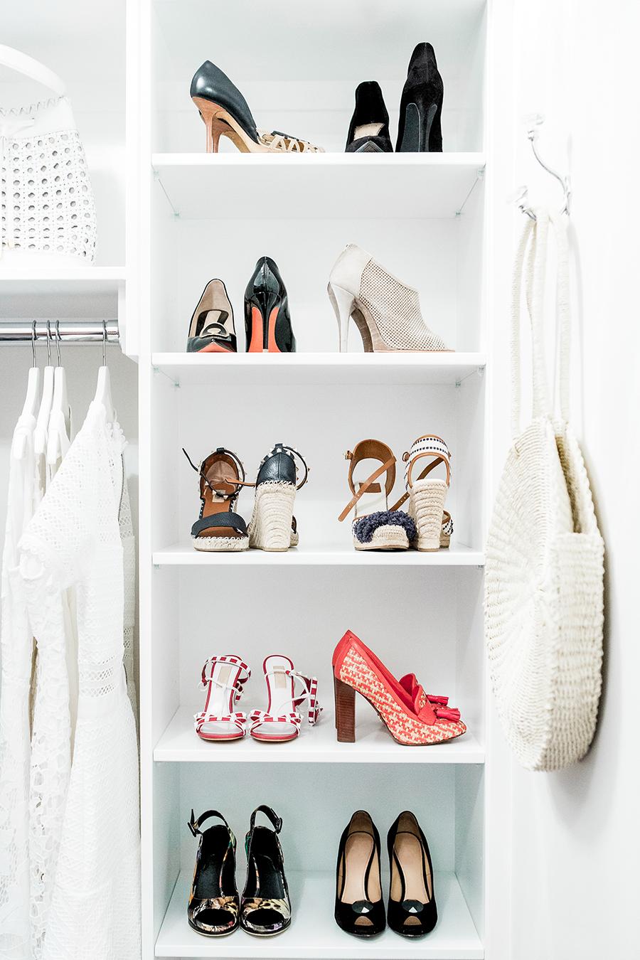 Organised Shoe Closet