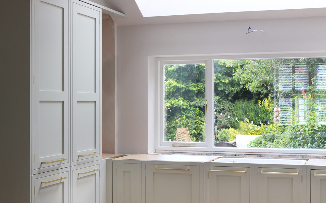 Renovation Diaries: We're Nearly There and Kitchen Units are In!
