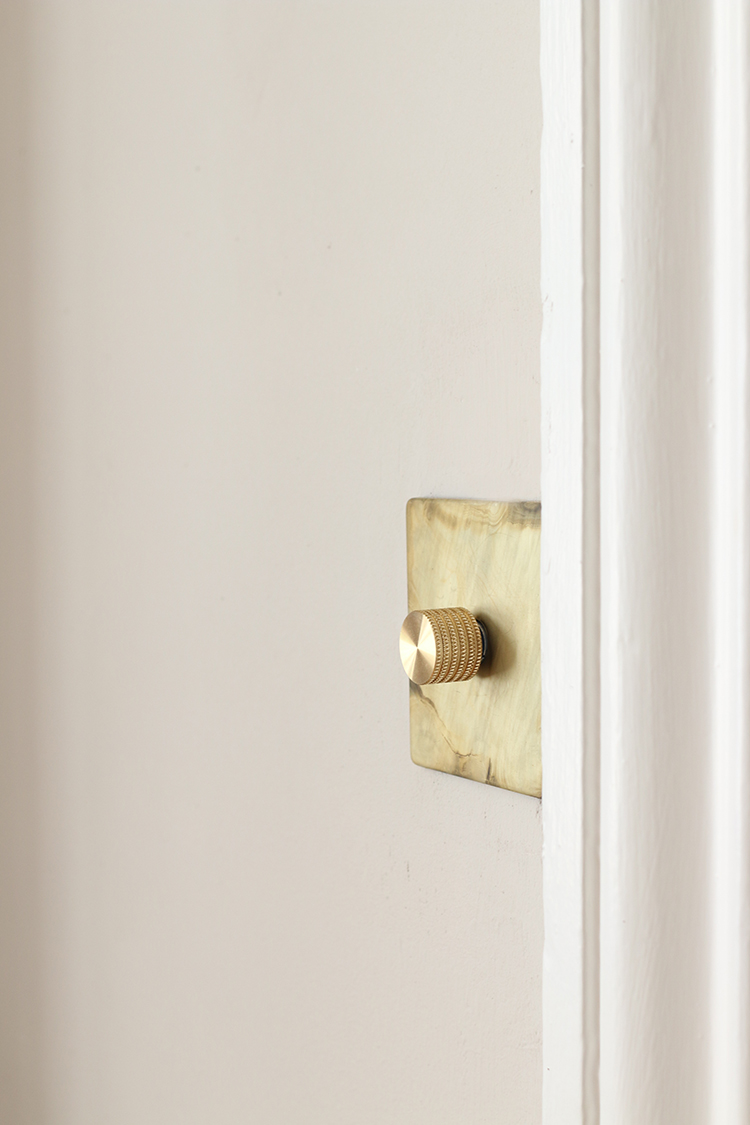 Dowsing and Reynolds smoked gold dimmer switch