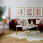 My Living Room Midi-Makeover Reveal in Autumn Colours