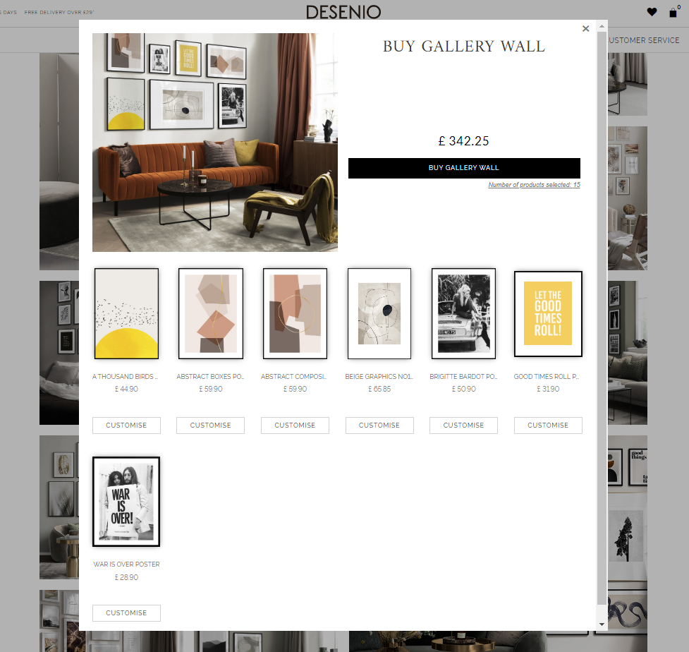 Buy Entire Gallery Wall Desenio