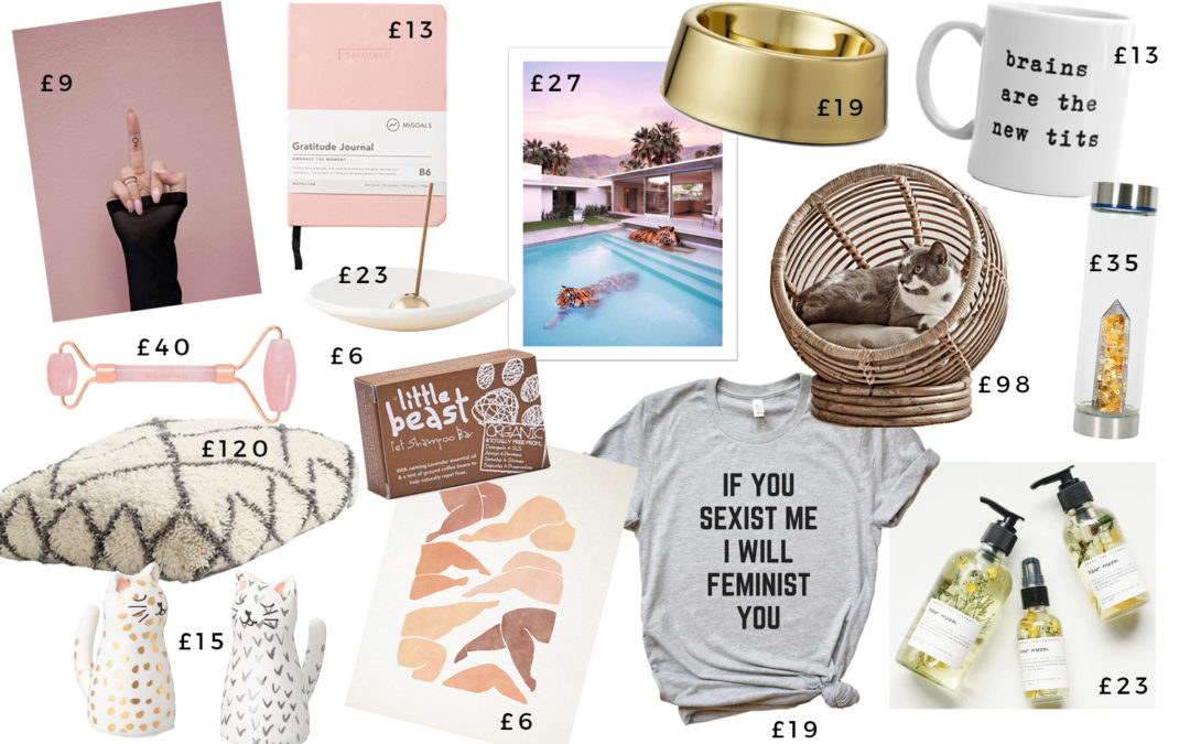 Christmas Gift Guides: The Animal Lover, The Feminist, The Woo Head