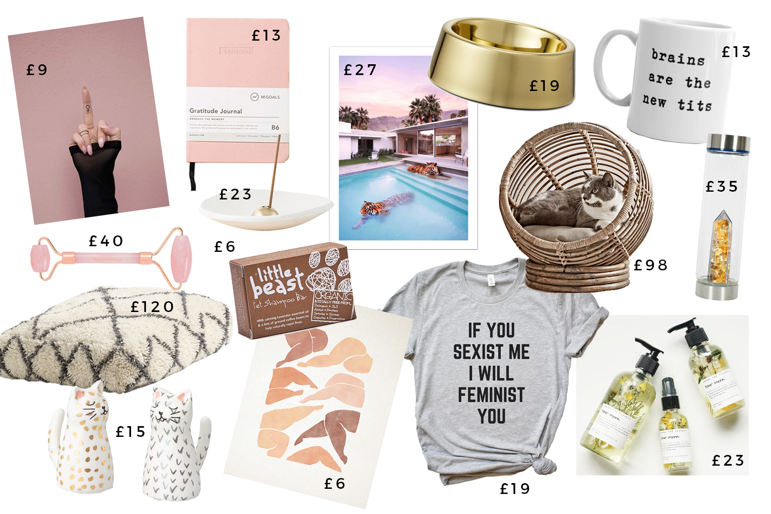 Christmas Gift Guides - The Animal Lover The Feminist The Woo Head