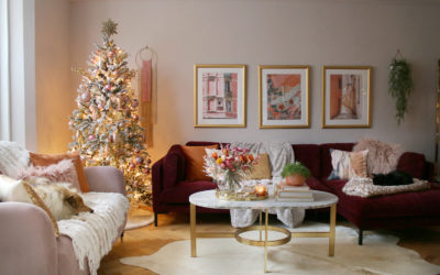 How to Style a Christmas Tree