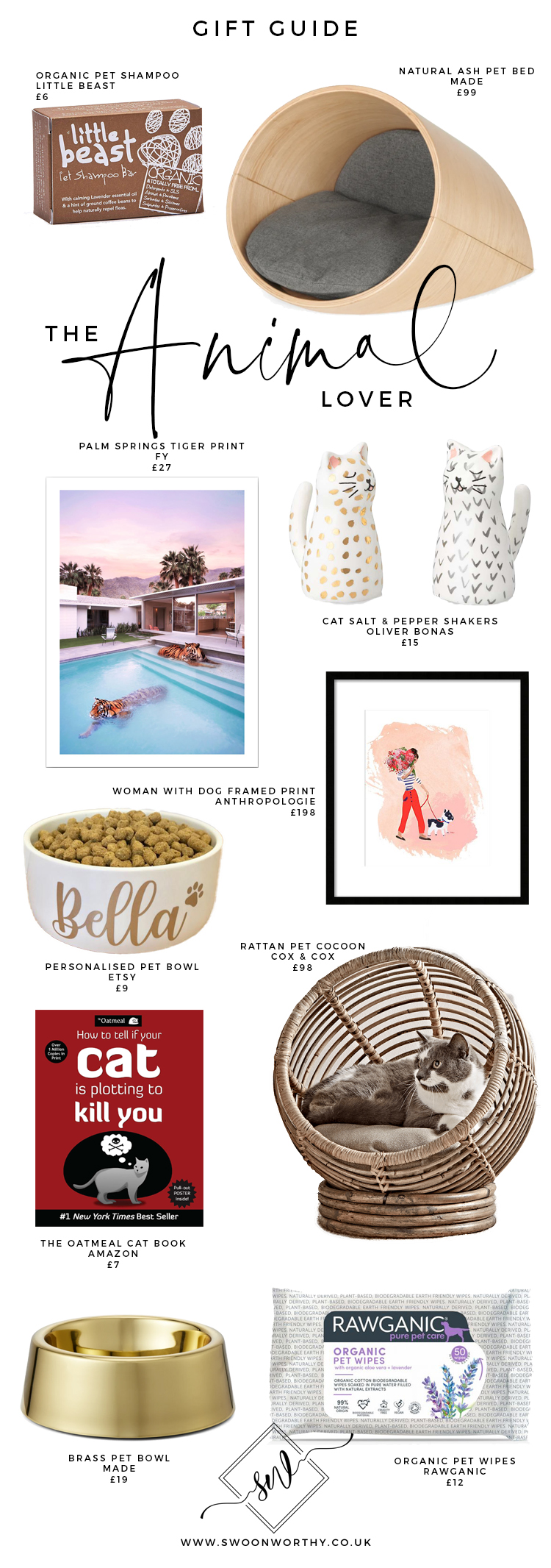 The Animal Lover Christmas Gift Guide