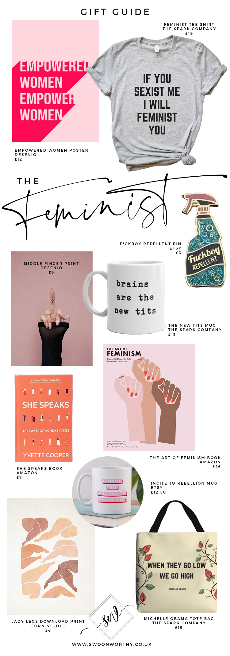 The Feminist Christmas Gift Guide