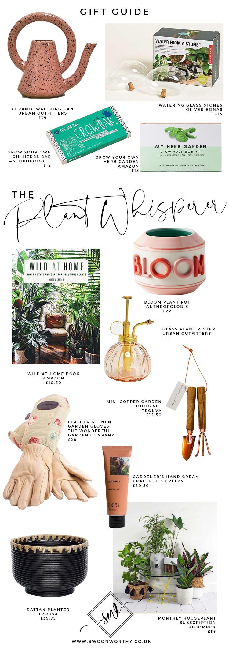 The Plant Whisperer Christmas Gift Guide