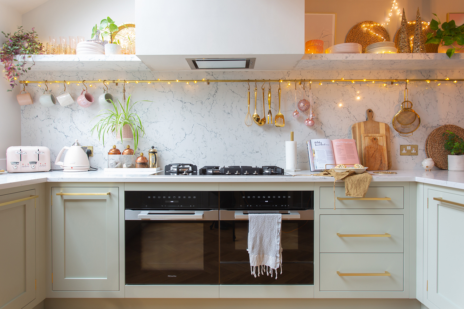 John Lewis of Hungerford Swoon Worthy kitchen Christmas