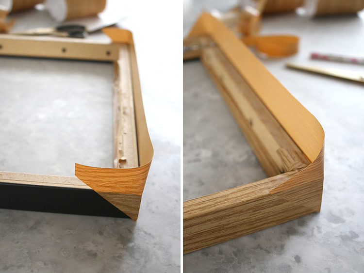 DIY Wood Frame Step 4
