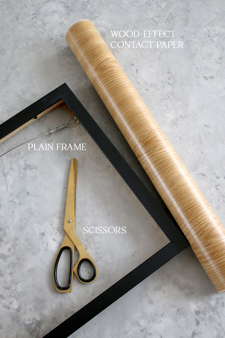 Plain Frame to Wood Frame Materials