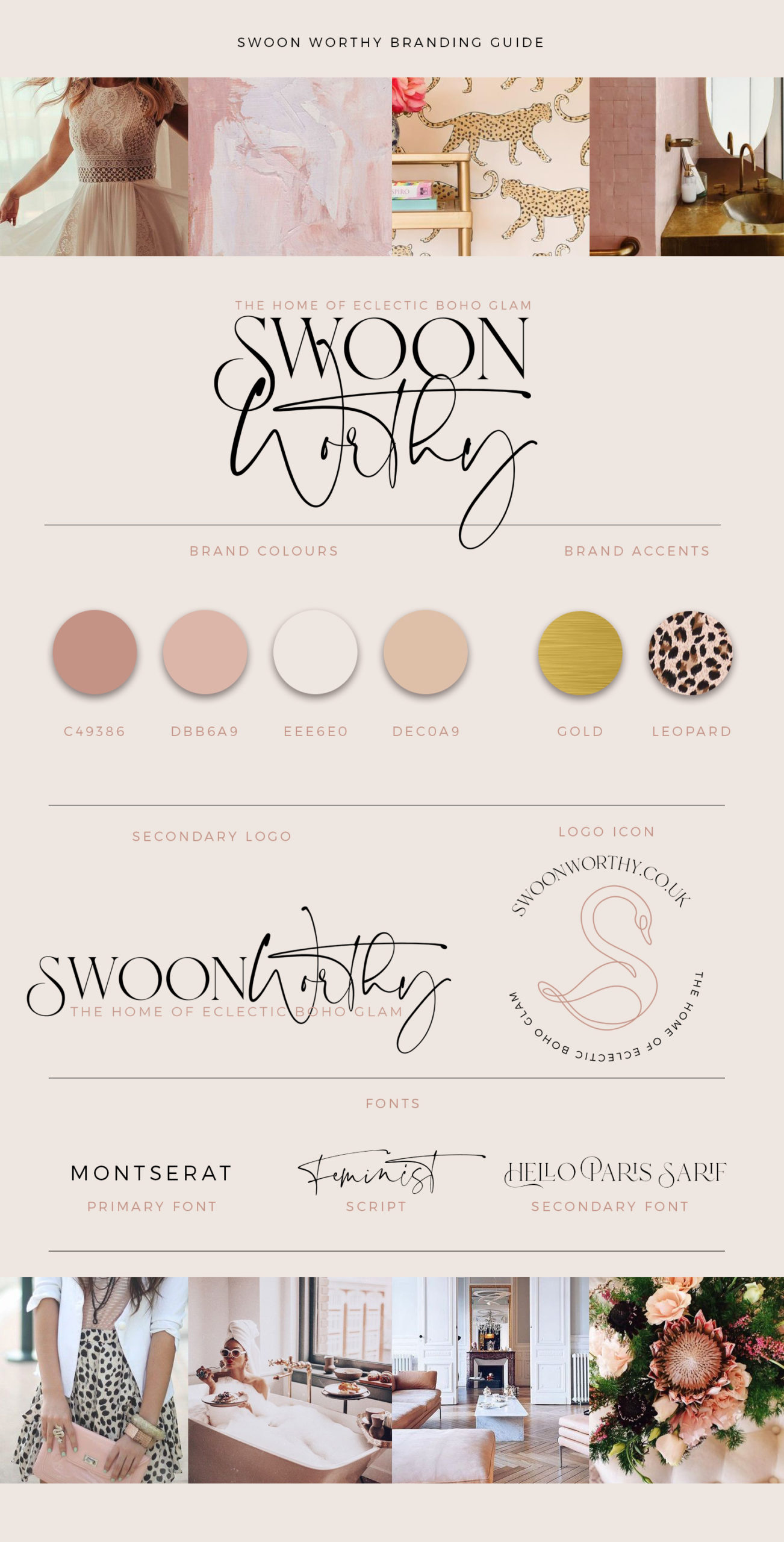 Swoon Worthy Branding Guide