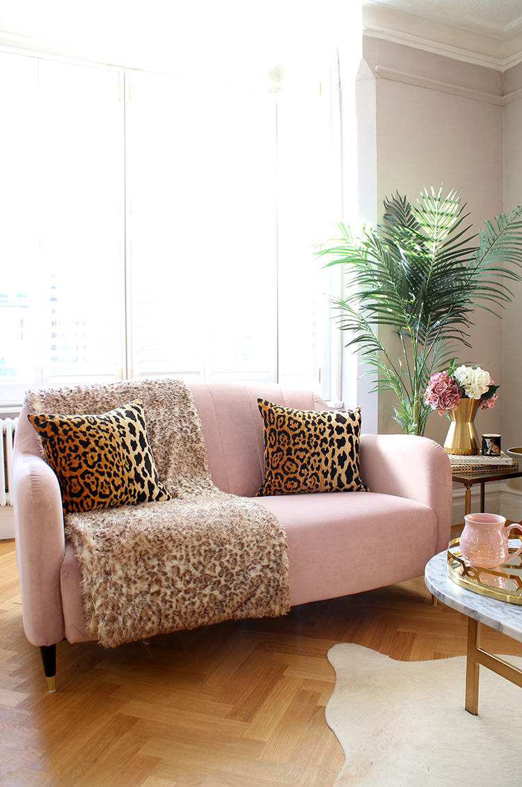 Wild At Heart - Styling a Sofa with Animal Print