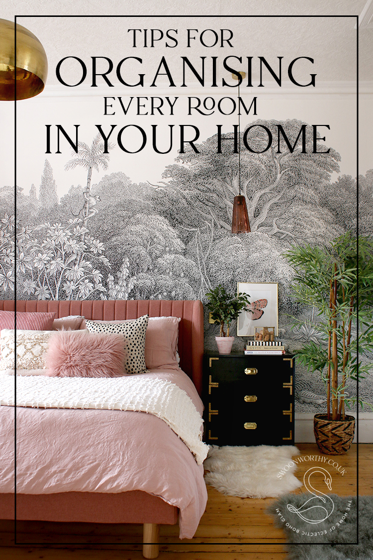 Tips for Organising Every Room in Your Home