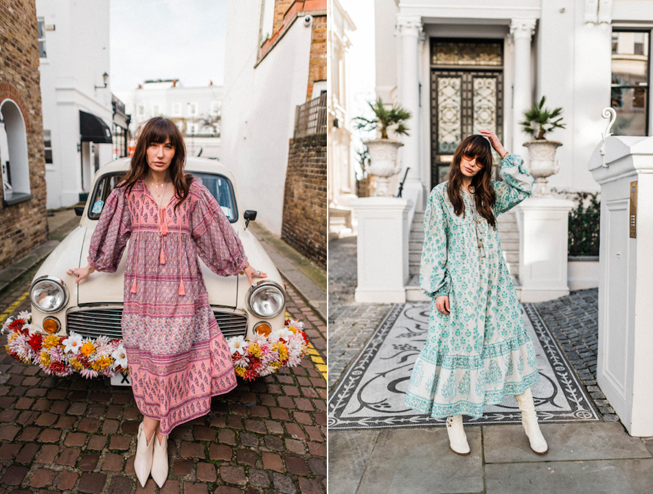 Dilli Grey Boho Dresses WFH Outfit Ideas