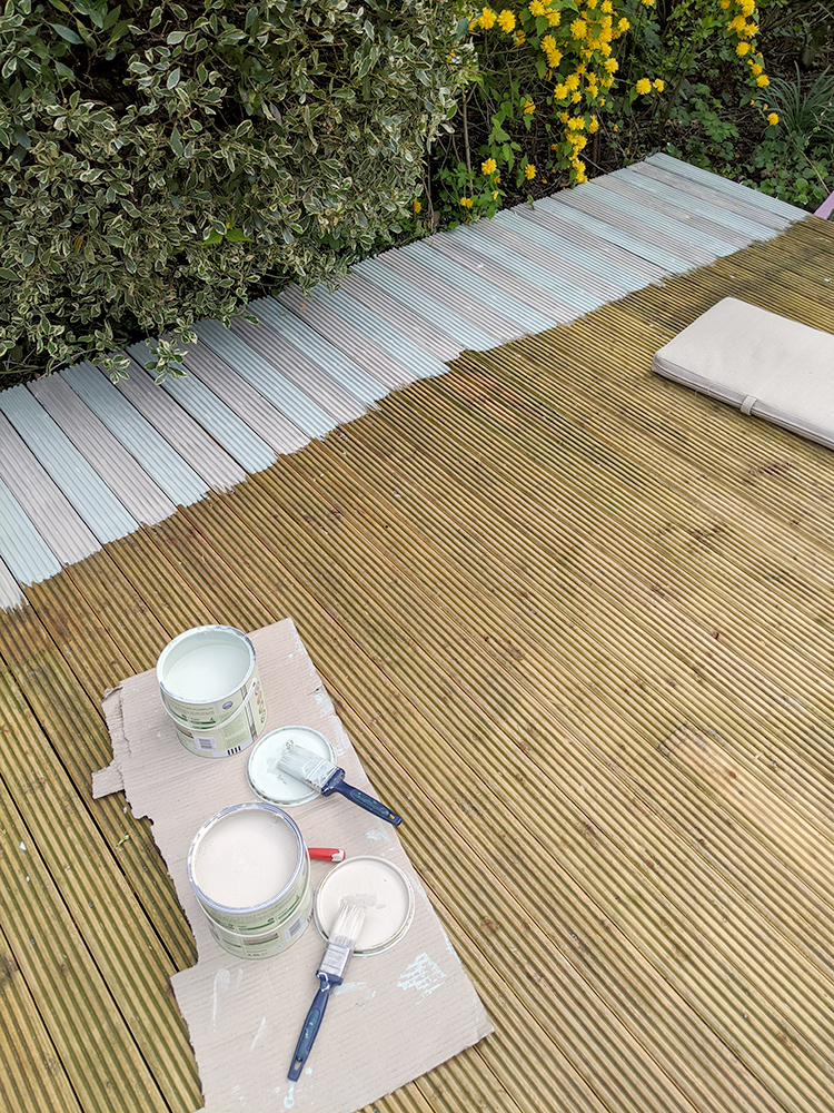 How not to paint a deck