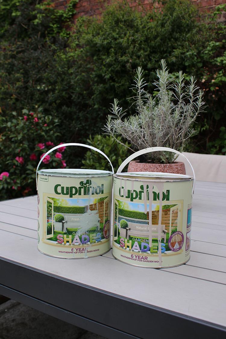 Cuprinol Garden Shades Fresh Rosemary and Natural Stone