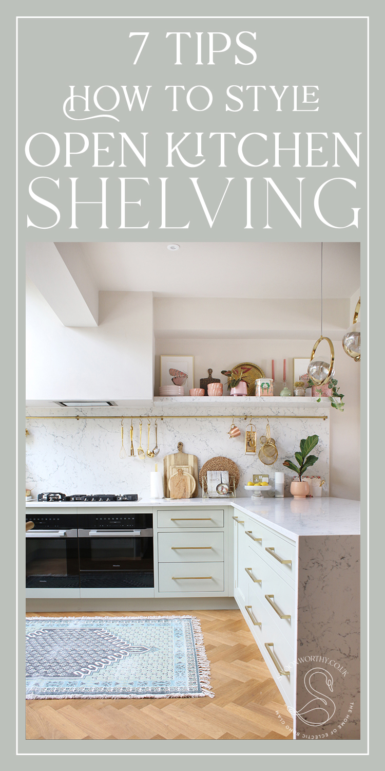 7 Tips How to Style Open Kitchen Shelving