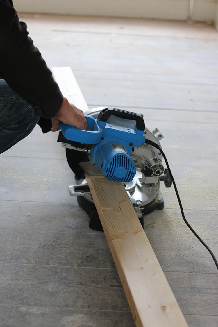 DIY Raised Bed Planter Step 1
