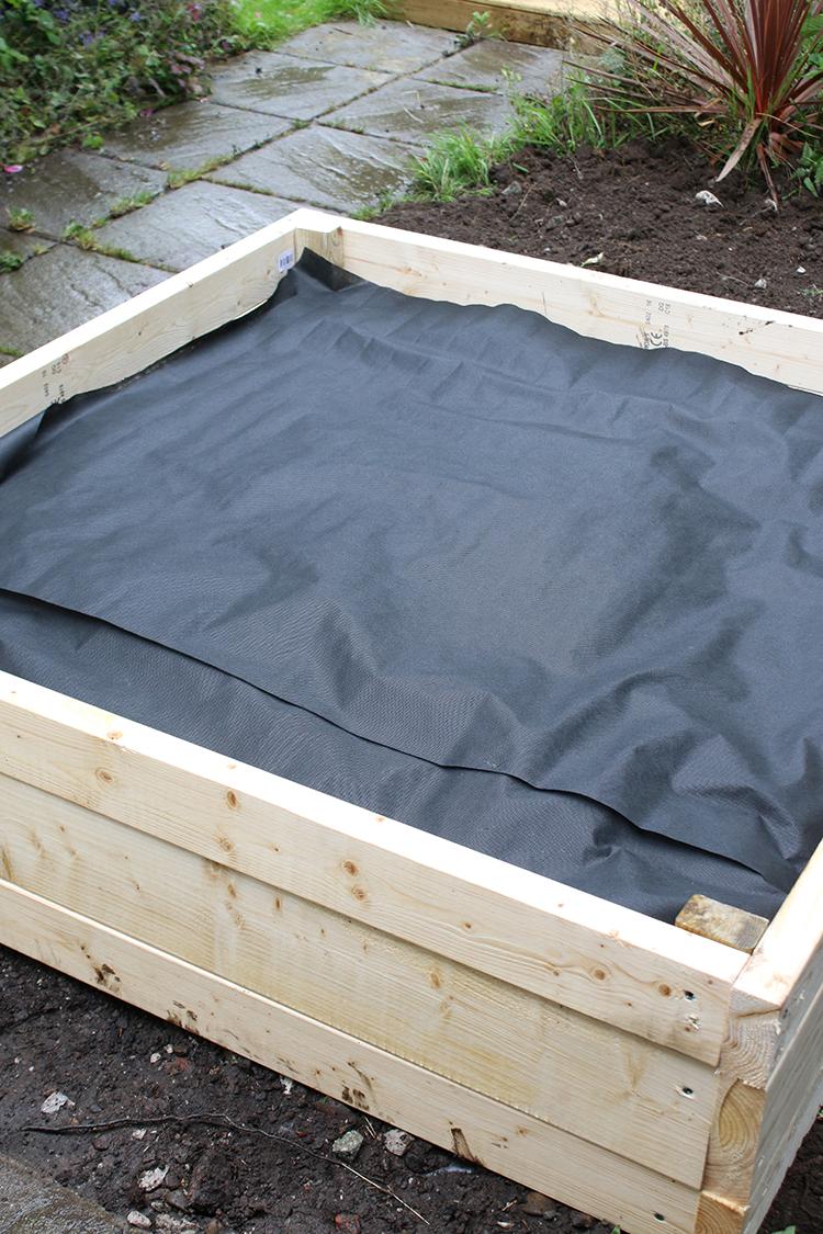 DIY Raised Bed Planter Step 11b