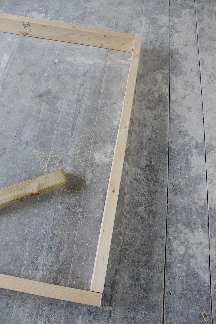 DIY Raised Bed Planter Step 3