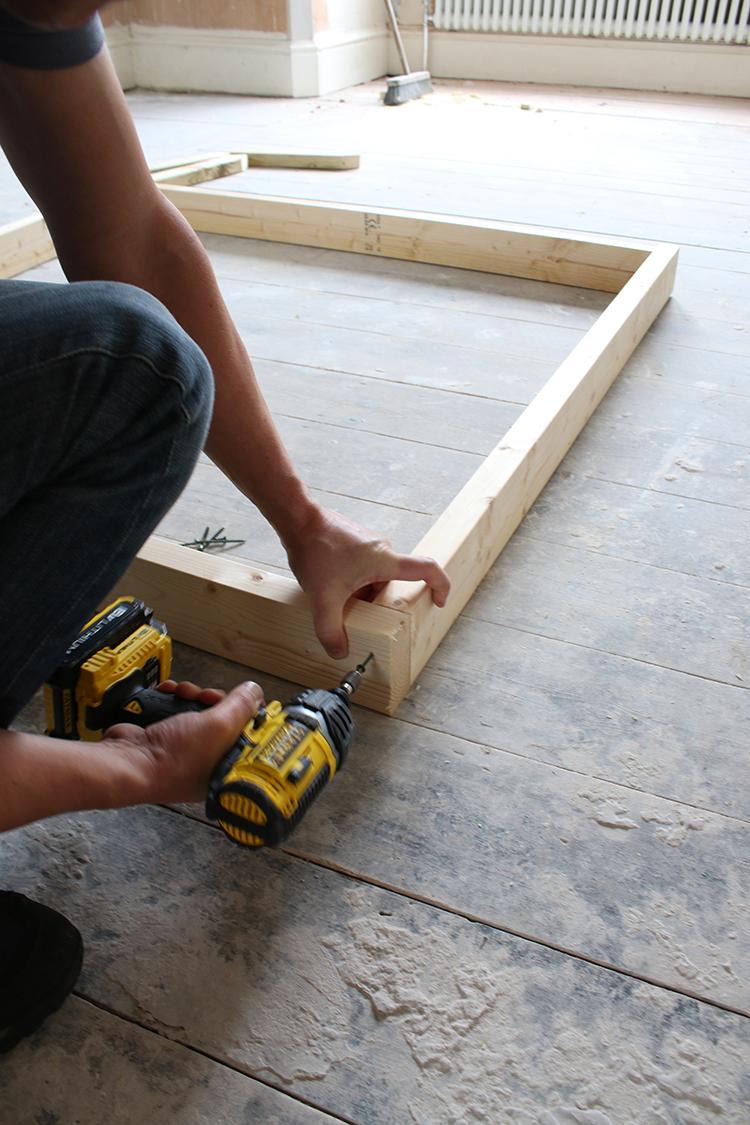 DIY Raised Bed Planter Step 4