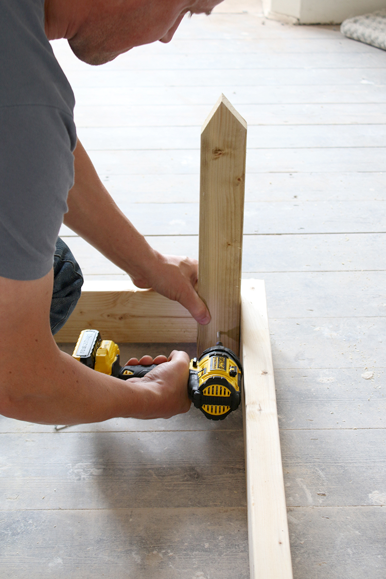 DIY Raised Bed Planter Step 5
