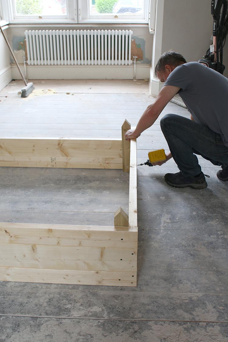 DIY Raised Bed Planter Step 7