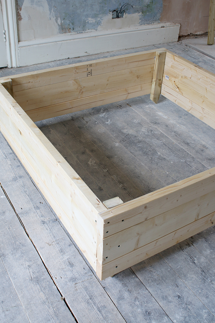 DIY Raised Bed Planter Step 8