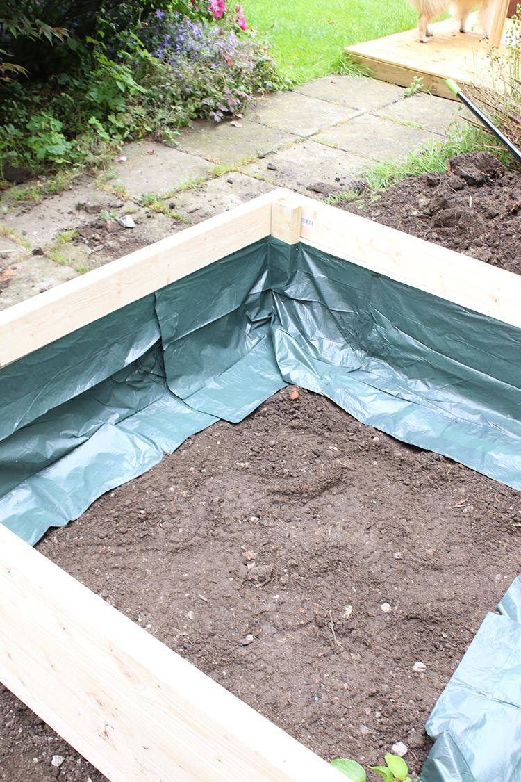 DIY Raised Bed Planter Step 9b
