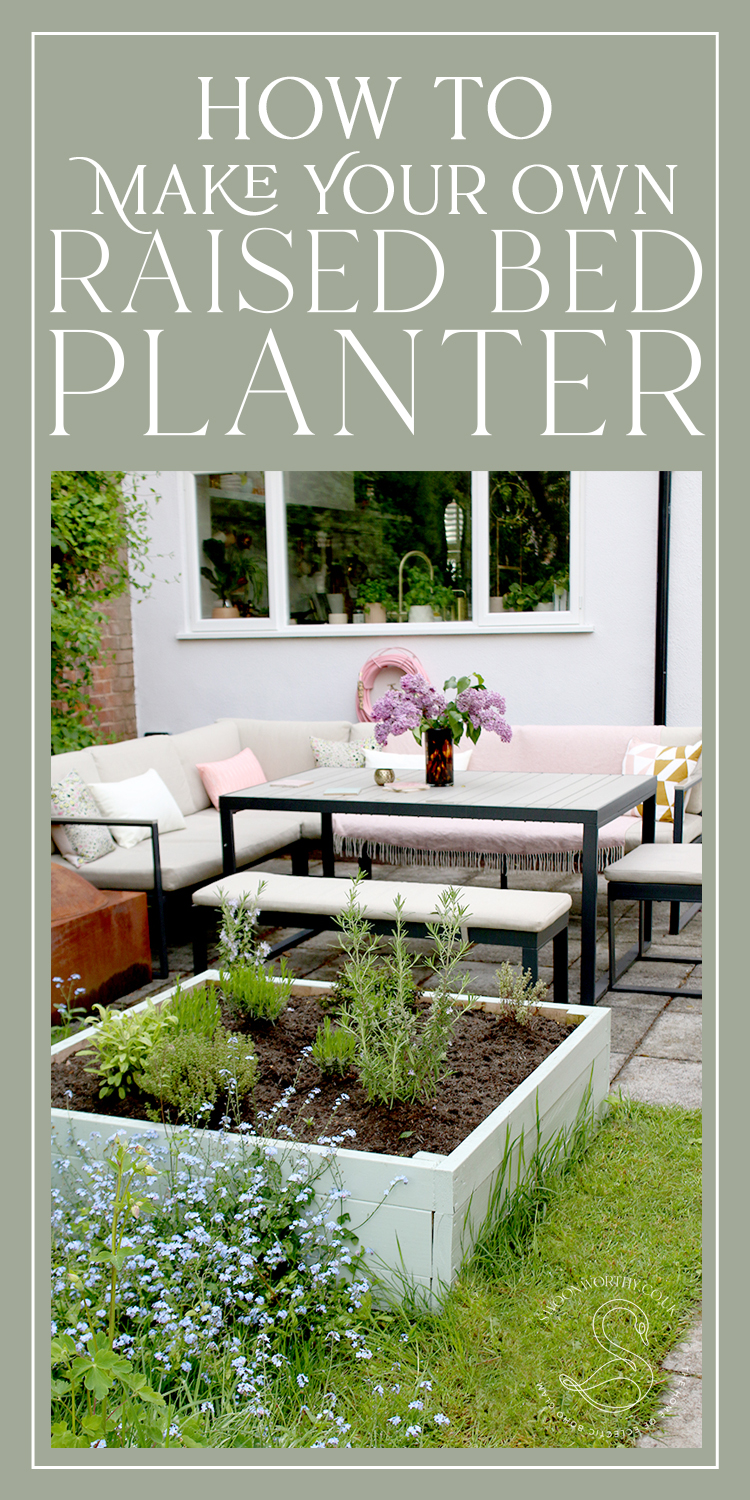 How to Make Your Own DIY Raised Bed Planter