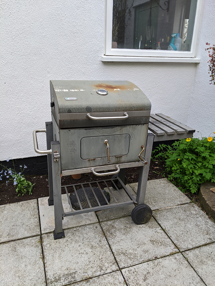 BBQ before painting