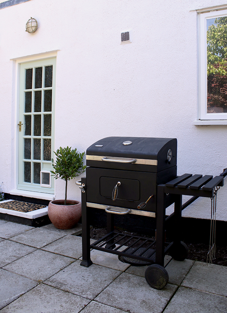 BBQ after painting with heat-resistant paint