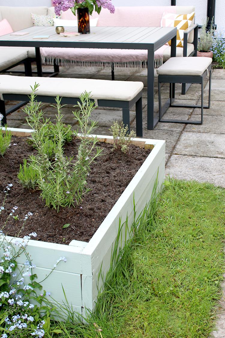 raised bed box planter diy