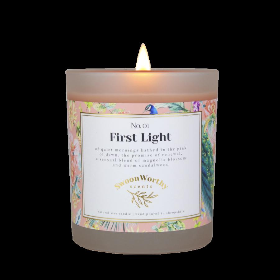 No 1 First Light Lit Candle KH VB Jul 21 copy