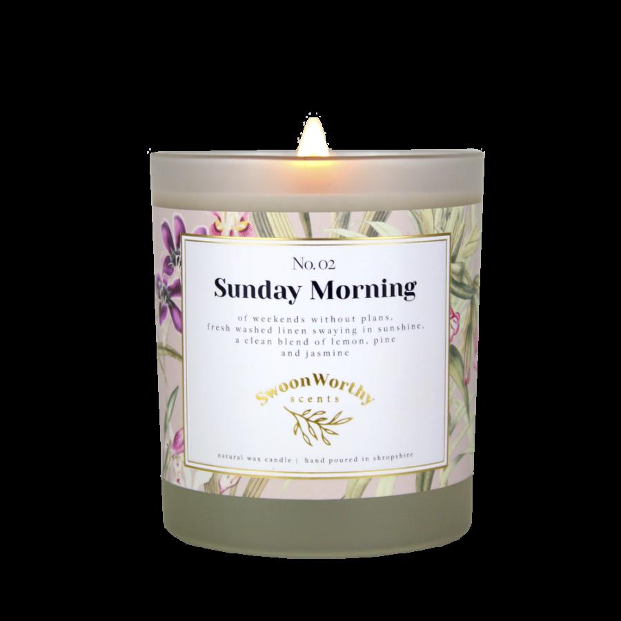 No 2 Sunday Morning Lit Candle KH VB Jul 21