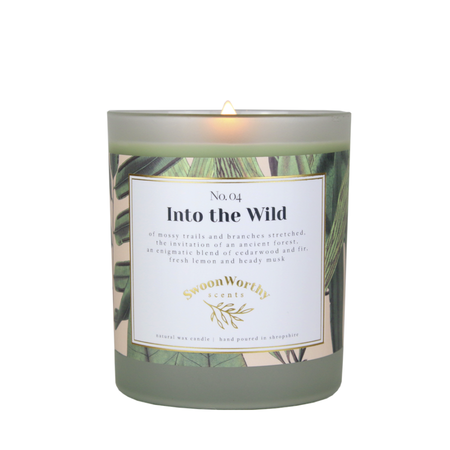 No 4 Into the Wild Lit Candle KH VB Jul 21