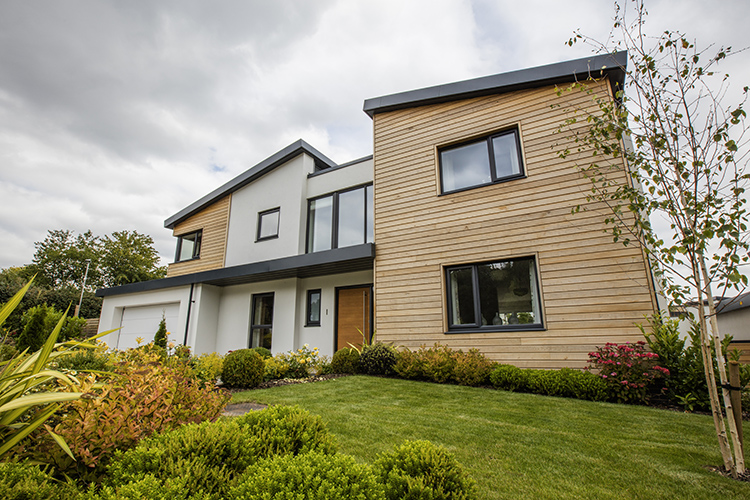 Eurocell Windows in a Contemporary Property