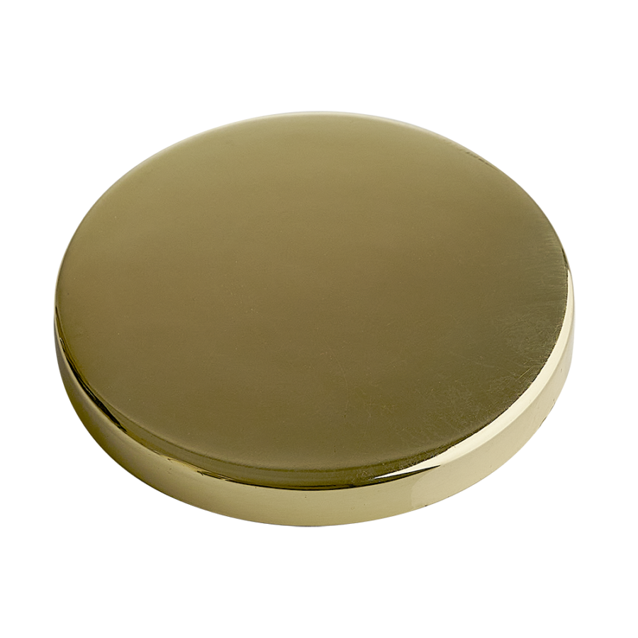 Gold Candle Lid