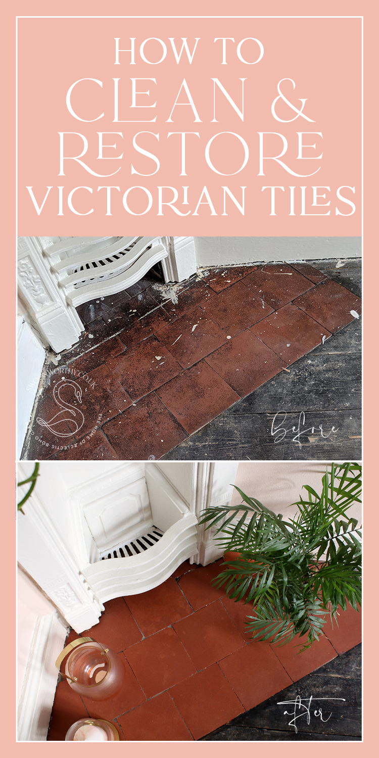 How to Clean & Restore Old Victorian Tiles