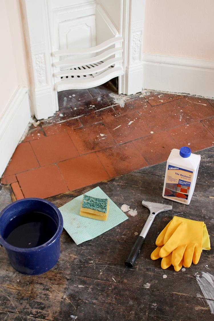 Restoring Victorian Tiles - Materials Needed