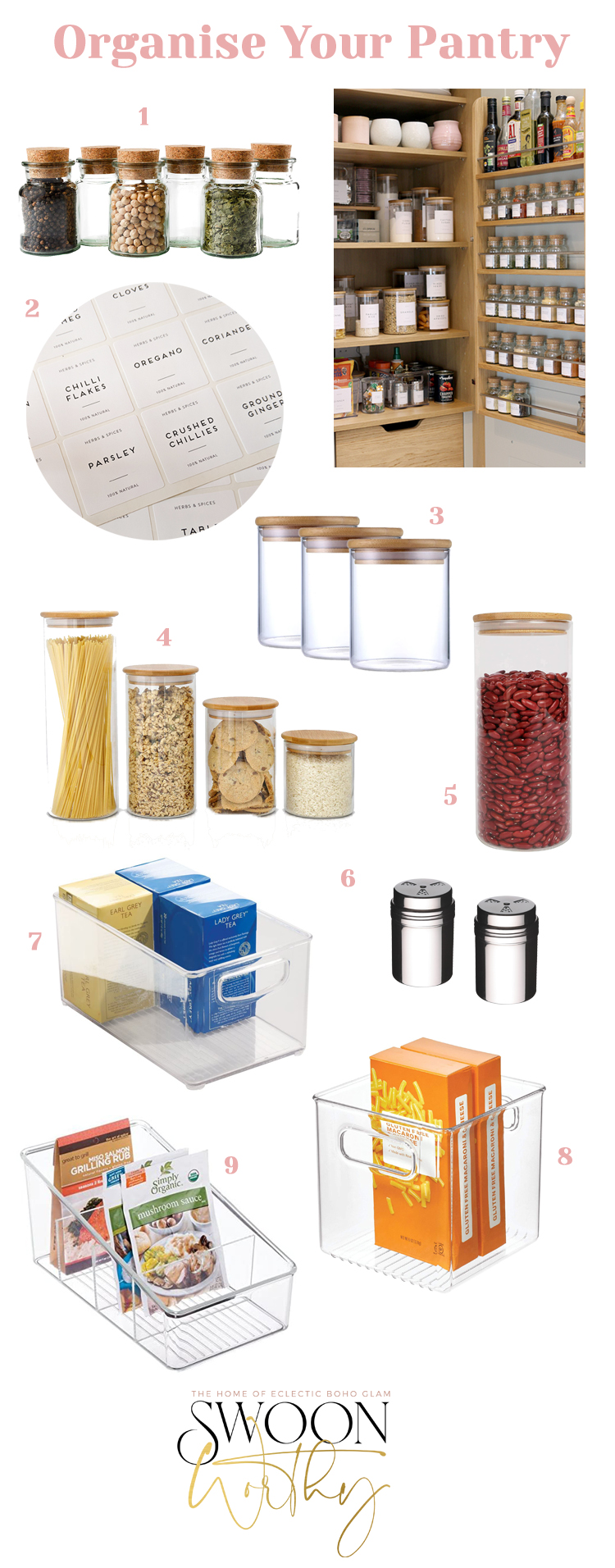 Buying Guide to Organising Your Pantry