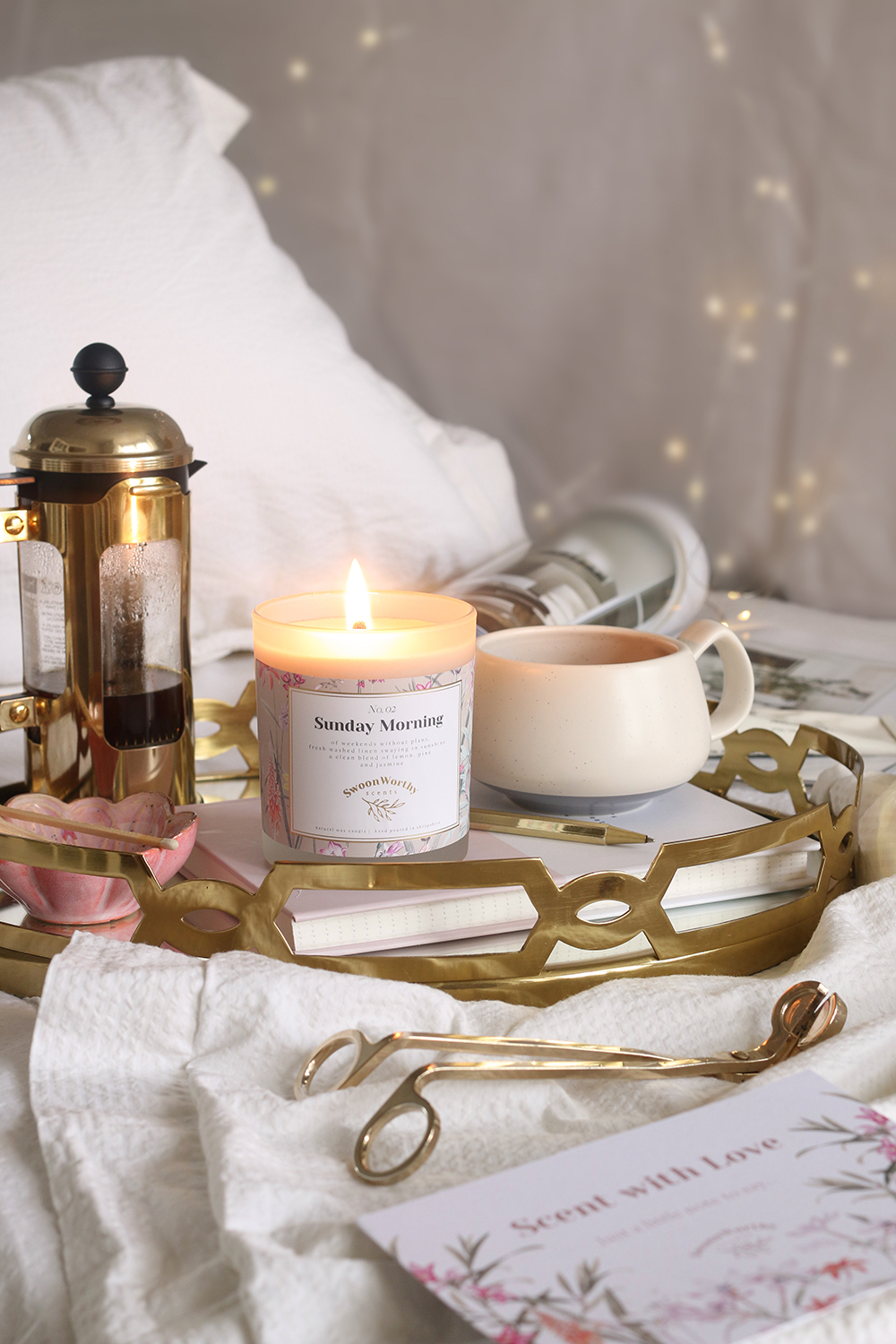 Swoon Worthy Scents Sunday Morning Candle