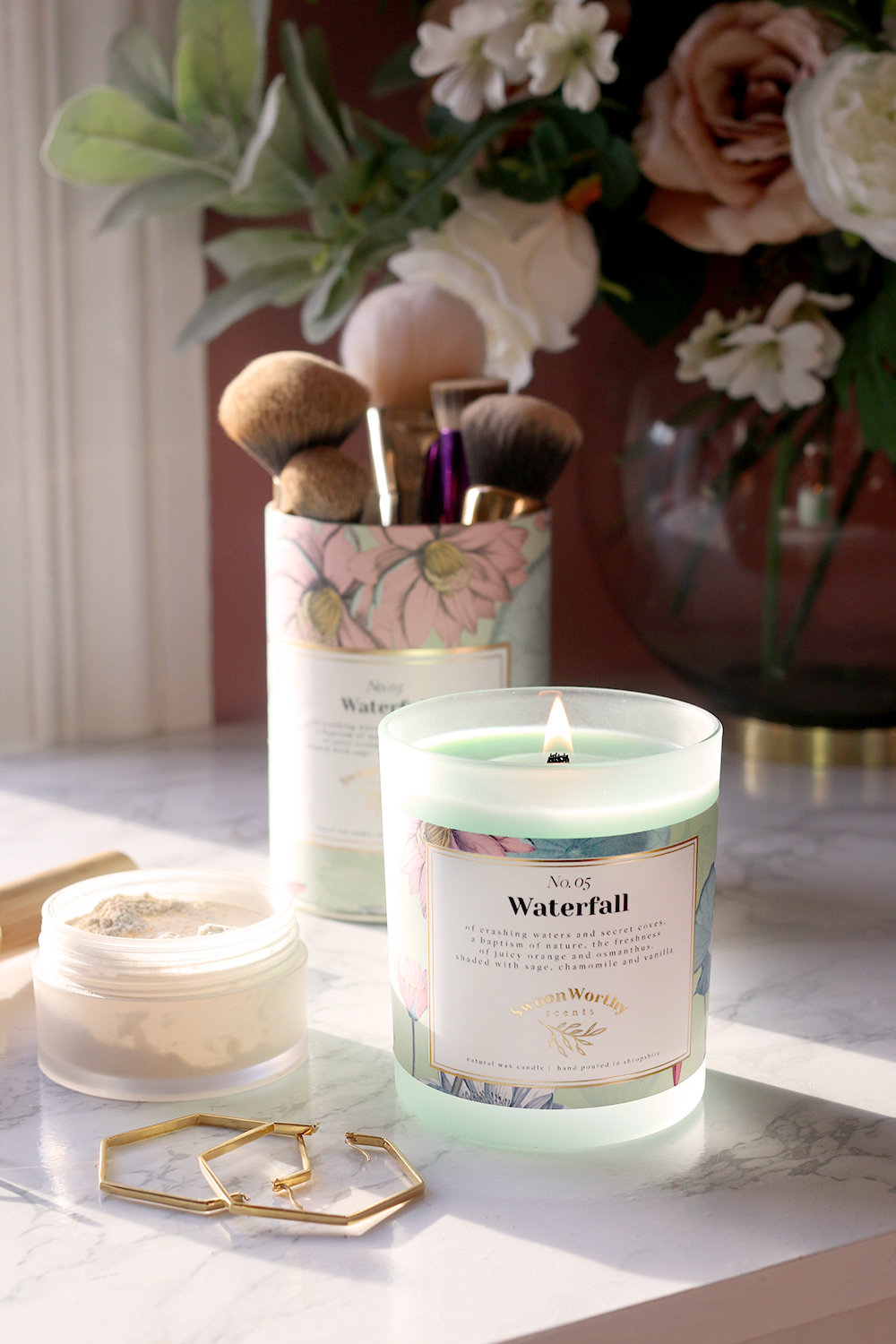 Swoon Worthy Scents Waterfall Candle No 5