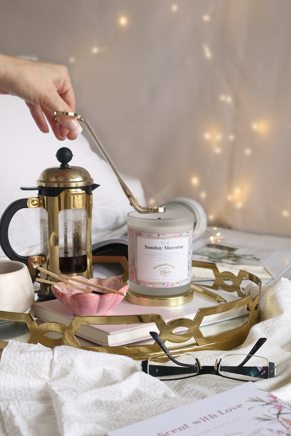 gold wick trimmers Swoon Worthy Scents candle