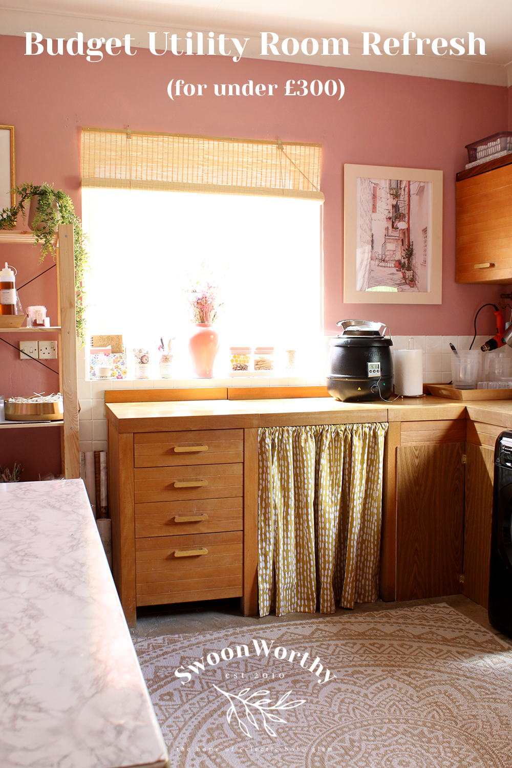 Budget Utility Room Refresh for under £300
