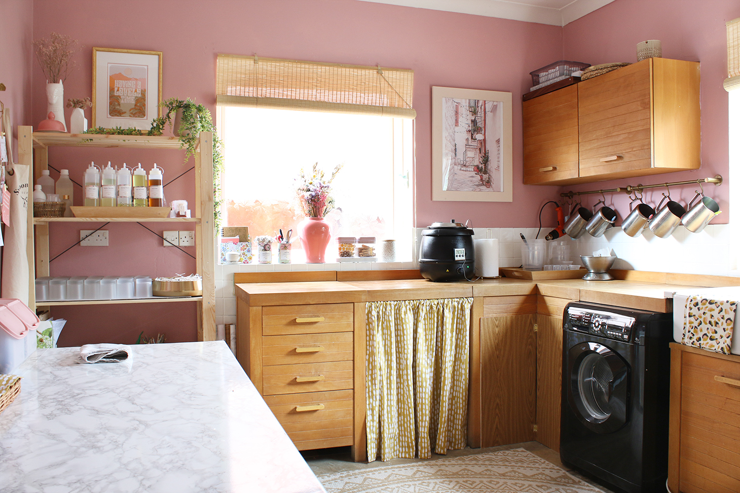 Utility and Studio refresh in pink and yellow
